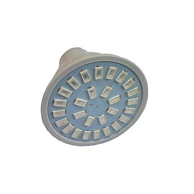 preiswerte LED-Innenbeleuchtung-1.5 W LED Aufzuchtlampen 159-163 lm GU10 GU5.3(MR16) E27 MR16 28 LED-Perlen SMD 5733 Rot Blau 220 V 110 V / 1 Stück / RoHs