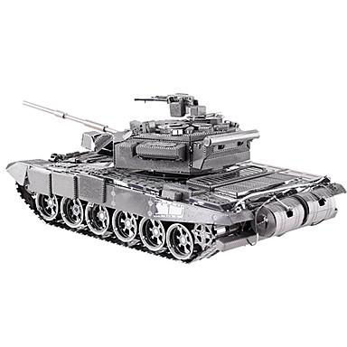 levne 3D puzzle-3D puzzle Puzzle Kovové puzzle Tank Udělej si sám Kovový Dětské Dospělé Unisex Dárek