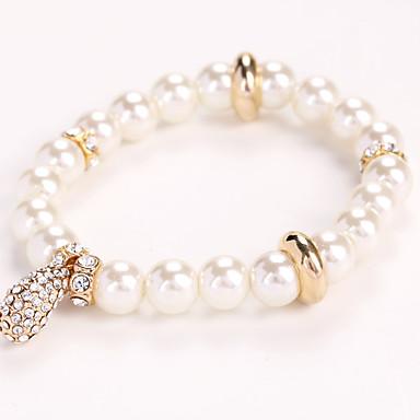 Dámské Řetězové   Ploché Náramky Strand Náramky Šperky příroda Módní Retro  Ručně vyrobeno bižuterie Perly Štras Slitina Šperky Pro 5946750 2019 –  5.99 89312dbb533