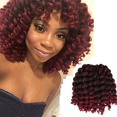 Braiding Hair Curly Bouncy Curl Classic Pre Loop Crochet Braids