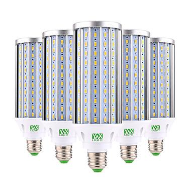 preiswerte LED-Kolbenlichter-ywxlight® 60w e26 / e27 führte mais lichter 160 smd 5730 5850-5950 lm warmweiß kaltweiß dekorative ac 85-265 v