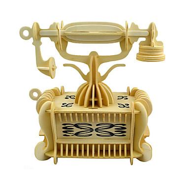 levne 3D puzzle-3D puzzle Auto Zábava Dřevo Klasické Dětské Unisex Hračky Dárek