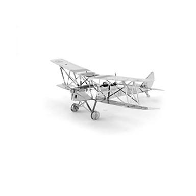 levne 3D puzzle-3D puzzle Modele Letadlo Fighter Zábava Nerez Klasické Dětské Unisex Hračky Dárek