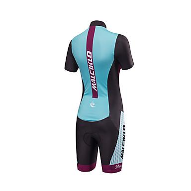 femme manches courtes tenue de triathlon trifonction pois v lo respirable design anatomique