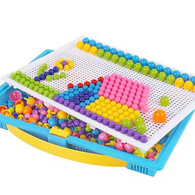 levne Kreslení hračky-Logická hra Mozaikové sady Vzdělávací hračka Houba Barevná Chlapecké Dívčí Hračky Dárek