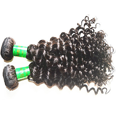 cheap Unprocessed Hair-8a indian deep wave vigin hair 3bundles 300g lot unprocessed indian human hair extensions weaves natural black color