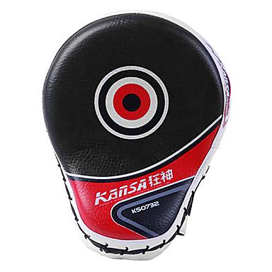 halpa Nyrkkeily ja kamppailulajit-Boxing ja Martial Arts Pad Nyrkkeilyhanskat Käyttötarkoitus Taekwondo Nyrkkeily Karate Itsepuolustuslajit Kuntoilu Voimannosto Kestävä PU-nahka PU (polyuretaani) Musta