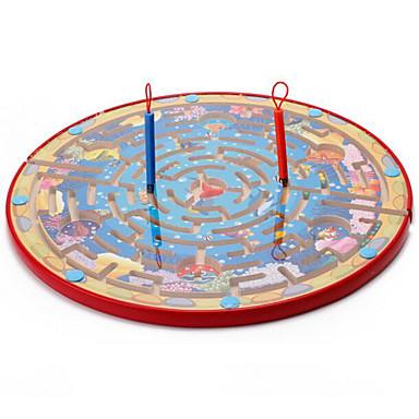 preiswerte Labyrinth & Puzzles-Muwanzi Bretsspiele Magnetische Labyrinthe Magnetisch Große Größe Hölzern Kinder Spielzeuge Geschenk
