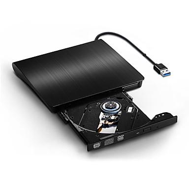 cheap Optical Drives-USB3.0 External POP-UP Mobile External DVD-RW Optical Drive Slim Case Reader Player Burner Recorder External ODD HDD Device for Windows Mac OS