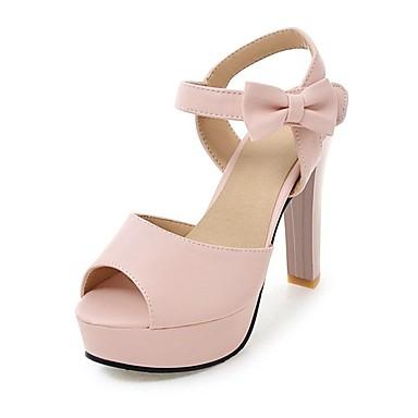 Zapatos beige de punta abierta formales REFRESH para mujer WrFOlj