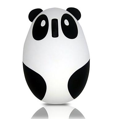 cheap Mice & Keyboards-LITBest Panda Wireless 2.4G Optical Creative Mouse RGB Light 800/1200 dpi 4 Adjustable DPI Levels 3 pcs Keys