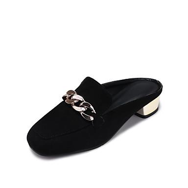 b0ffb018c Feminino Sapatos Courino Verão Conforto Chanel Solados com Luzes Sandálias  Salto Baixo Salto Robusto Dedo Fechado Combinação para Casual de 5888009  2019 por ...