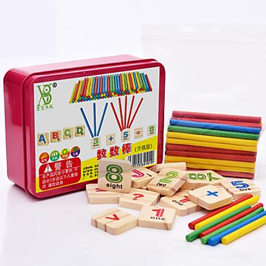 preiswerte Mathematische Spielsachen-Lernkarten Montessori Lernspielzeug Bausteine Mathe-Spielzeug Bildungsspielsachen Stück Bildung Cool Kinder Spielzeuge Geschenk