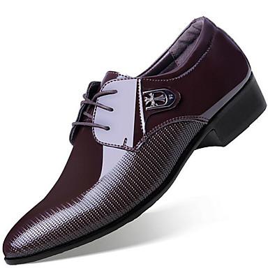 Pánské Oxfordské Společenské boty Módní obuv mikrovlákno Jaro Léto Podzim  Zima Svatební Party Chůze Společenské boty Módní obuvNýty 5878615 2019 –   21.99 ec57744c36