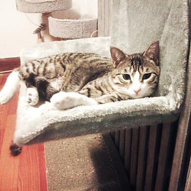 preiswerte Katzenhygiene & Weltkarten zum Auskratzen-Katze Betten Haustiere Matten & Polster Solide warm halten Waschbar Lässig / Alltäglich Grau Gelb Für Haustiere