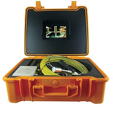 voordelige Test-, meet- & inspectieapparatuur-50m endoscopie slang buis camera hd nachtzicht pijp muur inspectie video camera functie