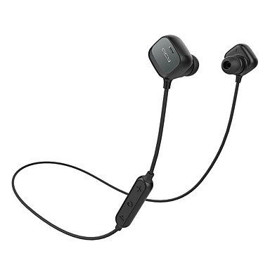 QCY QY12 In Ear / Neck Band Wireless Headphones Electrostatic Plastic Sport & FitneQCYss Earphone with Volume Control / with Microphone