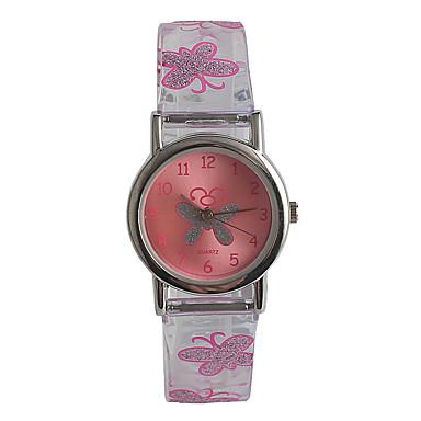 povoljno Ženski satovi-dame Ručni satovi s mehanizmom za navijanje Japanski Japanski kvarc Nehrđajući čelik Pink / Analog Ležerne prilike Moda - Neocakljen porculan