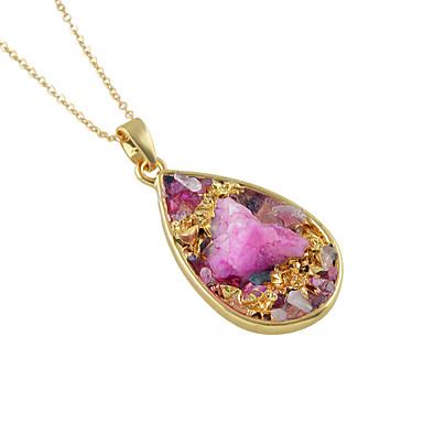 povoljno Modne ogrlice-Žene Ogrlice s privjeskom dame Osnovni Legura Zlato Ogrlice Jewelry Za Kauzalni