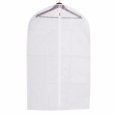 879c15a18f5a [$4.79] 60*90CM Thick Transparent Clothes Dust Cover Clothing Suit Garment  Hanging Pocket Can Wash Storage Bag Organizer for Jack Coat