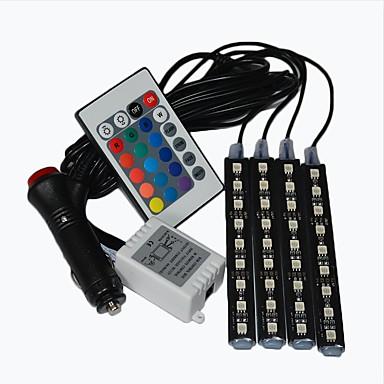 preiswerte LED-Innenbeleuchtung-Auto Lichter LED Streifen Neon Lampe dekorative Atmosphäre Lichter Auto Innenbeleuchtung