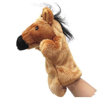 levne Maňásci-Prstoví maňásci Maňásci Vzdělávací hračka Roztomilý Zvířata Půvab Kůň Tactel Plyš Dětské Hračky Dárek