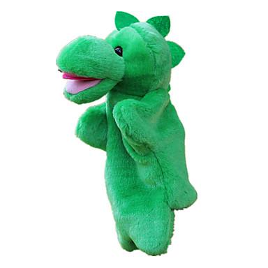 voordelige Marionetten-Poppen Handpop Dinosaurus Schattig Groot formaat Pluche stof Pluche Kinderen Speeltjes Geschenk