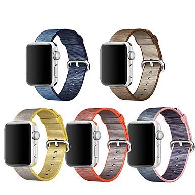 สายนาฬิกา สำหรับ Apple Watch Series 5/4/3/2/1 Apple หัวกลัดแบบคลาสสิก ไนลอน สายห้อยข้อมือ