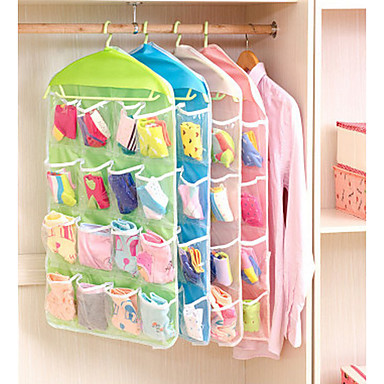 cheap Storage & Organization-Plastic Normal Multifunction Home Organization, 1set Storage Baskets Hangers Storage Bags