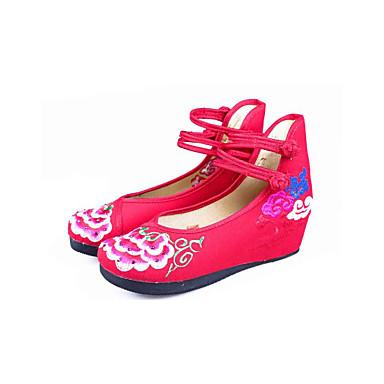 Bordados Confort Primavera Tejido Otoño Zapatos Mujer ID9WEH2