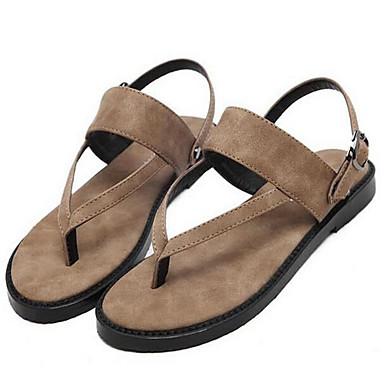 Γυναικείο Παπούτσια Δερμάτινο Άνοιξη Ανατομικό Σανδάλια Για Causal Μαύρο  Καφέ 5960089 2019 –  39.99 38463a6d2cd
