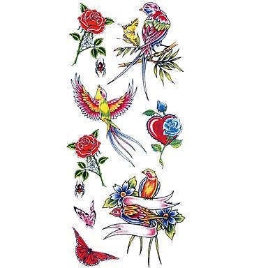 099 Wzór Dolna Część Pleców Waterproof Siła Robocza Ramię Nadgarstek Tatuaże Tymczasowe 1 Pcs Seria Zwierzęca Sztuka Na Ciele