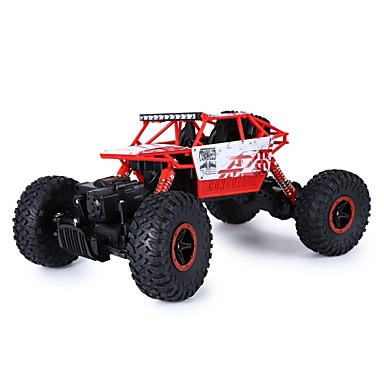 RC Car HUANGBOTOYS HB-P1801 2ch 2.4G Buggy (Off-road) / Car / Rock Climbing Car 1:18 Brush Electric 10 km/h Remote Control / RC / Rechargeable / Electric
