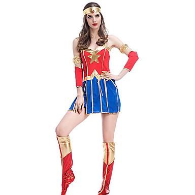 982fae7b Superhelter Magiske kvinner Cosplay Kostumer Dame Jul Halloween Karneval  Nytt År Festival / høytid Halloween-kostymer Lapper 5951912 2019 – $26.51