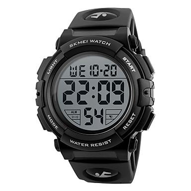 levne Pánské-Pánské Sportovní hodinky Inteligentní hodinky Náramkové hodinky Digitální Silikon Vícebarevný 50 m Voděodolné Kalendář Chronograf Digitální Přívěšky Módní Elegantní Hodinky k šatům Unikátní kreativn