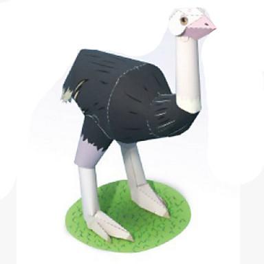 voordelige 3D-puzzels-3D-puzzels Bouwplaat Modelbouwsets Vogel Dieren DHZ Simulatie Klassiek Kinderen Unisex Speeltjes Geschenk