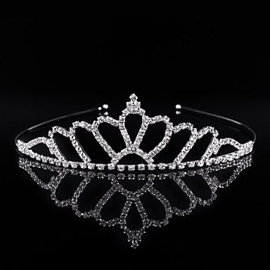 Kristal / Umjetno drago kamenje / Legura tijare / Trake za kosu s 1 Vjenčanje / Special Occasion / Zabava / večer Glava