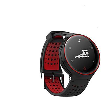 levne Dámské-Pánské Módní hodinky Digitální Pryž Modrá / Červená / Zelená 30 m Voděodolné Analog - Digitál Červená Zelená Modrá