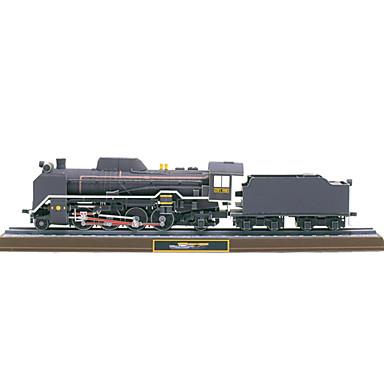 levne 3D puzzle-3D puzzle Papírové modely Vlečka Parní lokomotiva Udělej si sám lepenkový papír Vlak Dětské Unisex Hračky Dárek