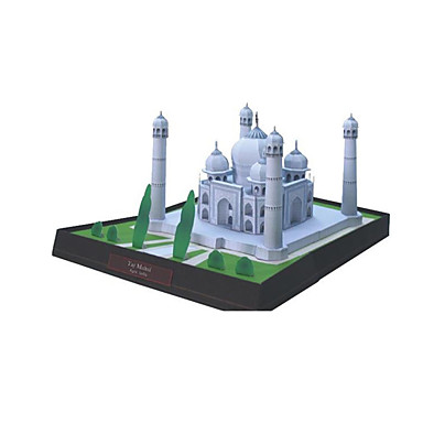 voordelige 3D-puzzels-3D-puzzels Bouwplaat Modelbouwsets Kruis Beroemd gebouw Taj Mahal DHZ Klassiek Unisex Speeltjes Geschenk