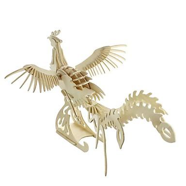 levne 3D puzzle-3D puzzle Puzzle Modele Ptáček Udělej si sám Nábytek Dřevěný Klasické Dětské Unisex Chlapecké Dívčí Hračky Dárek