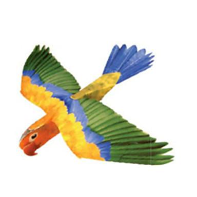 voordelige 3D-puzzels-3D-puzzels Bouwplaat Modelbouwsets Paard Parrot DHZ Hard Kaart Paper Klassiek Kinderen Unisex Jongens Speeltjes Geschenk