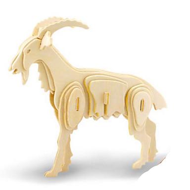 levne 3D puzzle-Robotime 3D puzzle Puzzle Dřevěný model Dinosaurus Hmyz Zvířata Udělej si sám Dřevěný Klasické Dětské Unisex Hračky Dárek