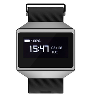 [$44 99] YYCK12 Smart Bracelet Smartwatch Android iOS Bluetooth  Bluetooth4 0 Sports Waterproof Heart Rate Monitor APP Control Pulse Tracker  Pedometer