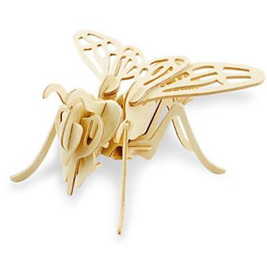 levne 3D puzzle-Robotime 3D puzzle Puzzle Dřevěný model Dinosaurus Hmyz Zvířata Udělej si sám Dřevěný Klasické Dětské Unisex Chlapecké Hračky Dárek