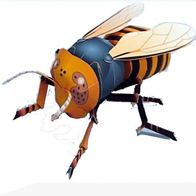 levne 3D puzzle-3D puzzle Papírové modely Modele Hmyz Udělej si sám Simulace Syntetický Klasické Dětské Unisex Hračky Dárek