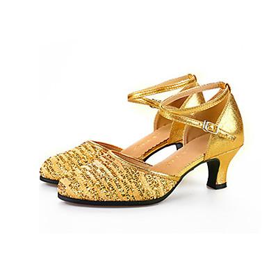 c4a494ac652 Γυναικεία Μοντέρνα παπούτσια Πλεκτό / Λαμπυρίζον Γκλίτερ / Με πούλιες Πέδιλα  / Τακούνια / Αθλητικά Εσωτερικό Αστραφτερό Γκλίτερ / Αγκράφα 6003391 2019 –  ...