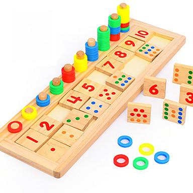 preiswerte Mathematische Spielsachen-Montessori Lernspielzeug Bausteine Mathe-Spielzeug Bildungsspielsachen Umweltfreundlich Bildung Klassisch Kinder Spielzeuge Geschenk