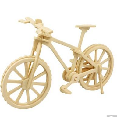 levne 3D puzzle-3D puzzle Puzzle Dřevěný model Kolo Udělej si sám Dřevěný Přírodní dřevo Unisex Hračky Dárek