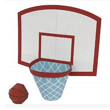 levne 3D puzzle-3D puzzle Míčky Papírové modely Basketbal Udělej si sám Klasické Dětské Unisex Hračky Dárek